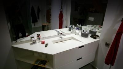 Lave-main en Corian